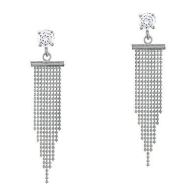 Σκουλαρίκια Κρεμαστά Από Ασήμι SK1053