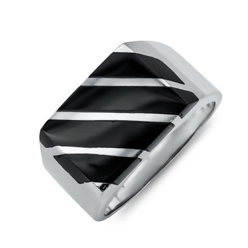 Ανδρικό Δαχτυλίδι από Λευκό Xρυσό K14 ADX119