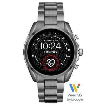 MICHAEL KORS Bradshaw Touchscreen Smartwatch Stainless Steel Bracelet MKT5087