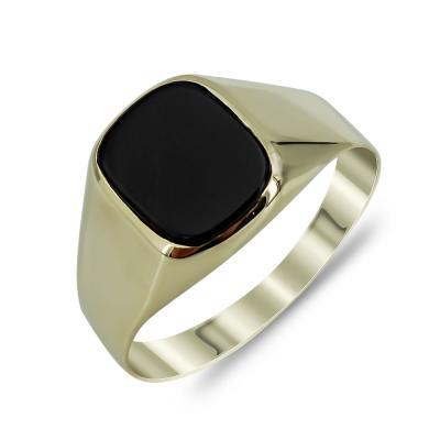 Ανδρικό Δαχτυλίδι από Κίτρινο Χρυσό K14 ADX145