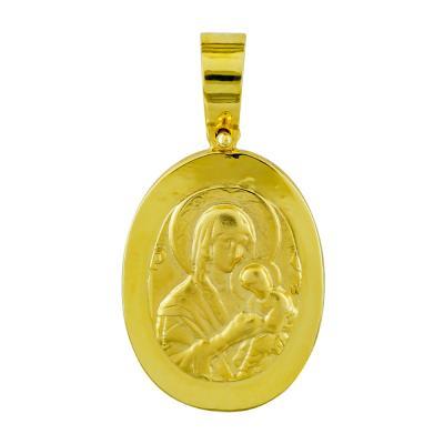 Κωνσταντινάτο Από Κίτρινο Χρυσό Κ14 KN273