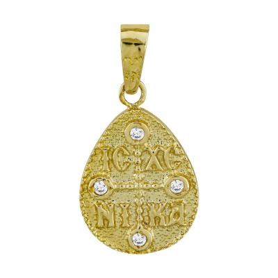 Κωνσταντινάτο Από Κίτρινο Χρυσό Κ14 KN277