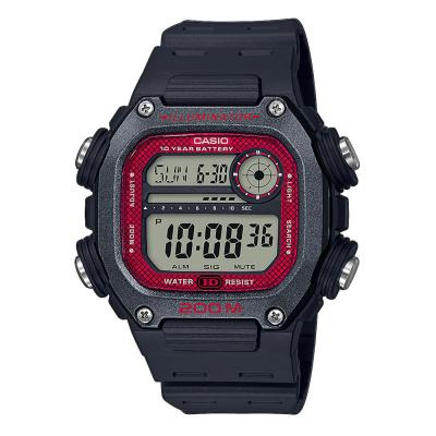 CASIO Collection Black Rubber Strap DW-291H-1BVEF