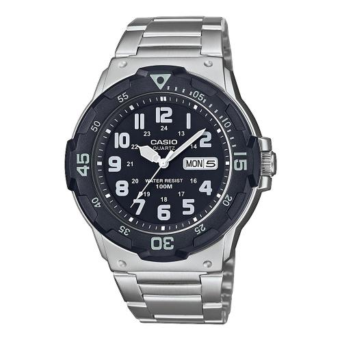 CASIO Collection Stainless Steel Bracelet MRW-200HD-1BVEF