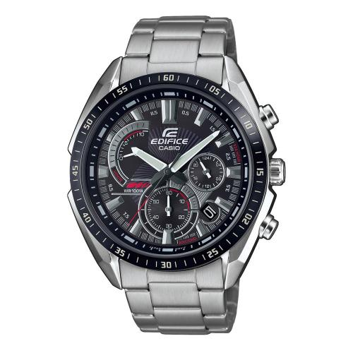 CASIO Edifice Stainless Steel Chronograph EFR-570DB-1AVUEF