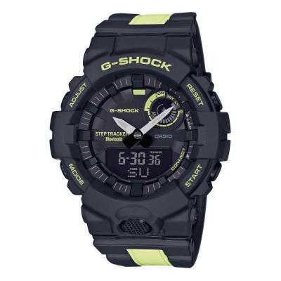 CASIO G-Shock Bluetooth Anadigi Two Tone Rubber Strap GBA-800LU-1A1ER