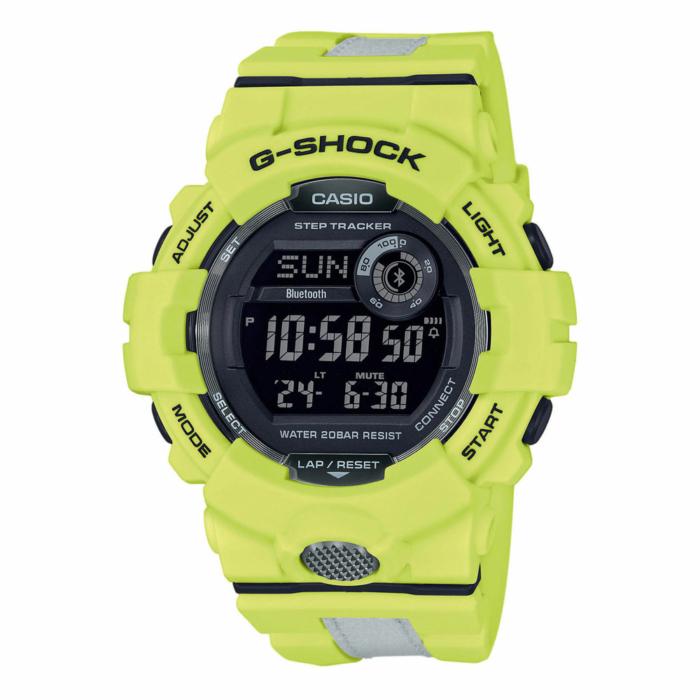 CASIO G-Shock Bluetooth Anadigi Two Tone Rubber Strap GBD-800LU-9ER
