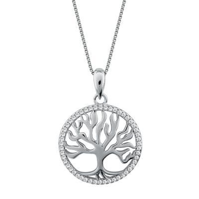 Κολιέ Με Το Δέντρο Της Ζωής Από Ασήμι KL890