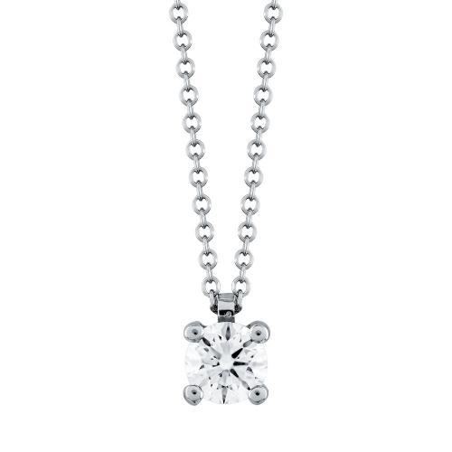 Μενταγιόν Με Διαμάντια Βrilliant Από Λευκό Χρυσό Κ18 M531
