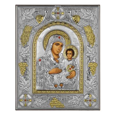 Ασημένια Εικόνα Παναγία η Ιεροσολυμίτισσα RMA/E3702AX