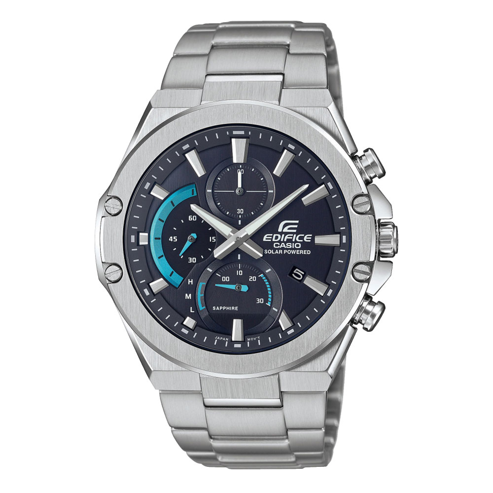 CASIO Edifice Solar Stainless Steel Bracelet EFS-S560D-1AVUEF