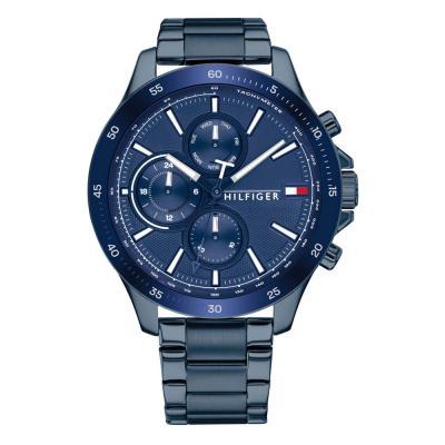Tommy HILFIGER Sport Blue Stainless Steel Bracelet 1791720