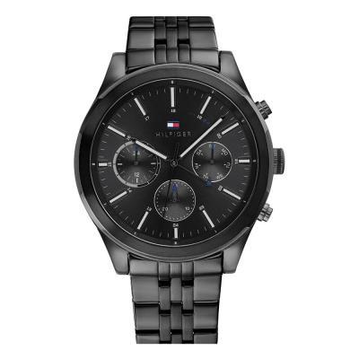 Tommy HILFIGER Multifunction Black Stainless Steel Bracelet 1791738