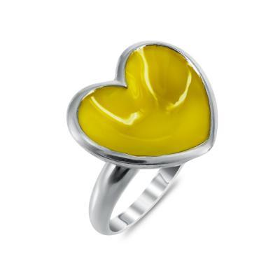 Jools Επιχρυσωμένο Ασημένιο Δαχτυλίδι Καρδούλα DX682