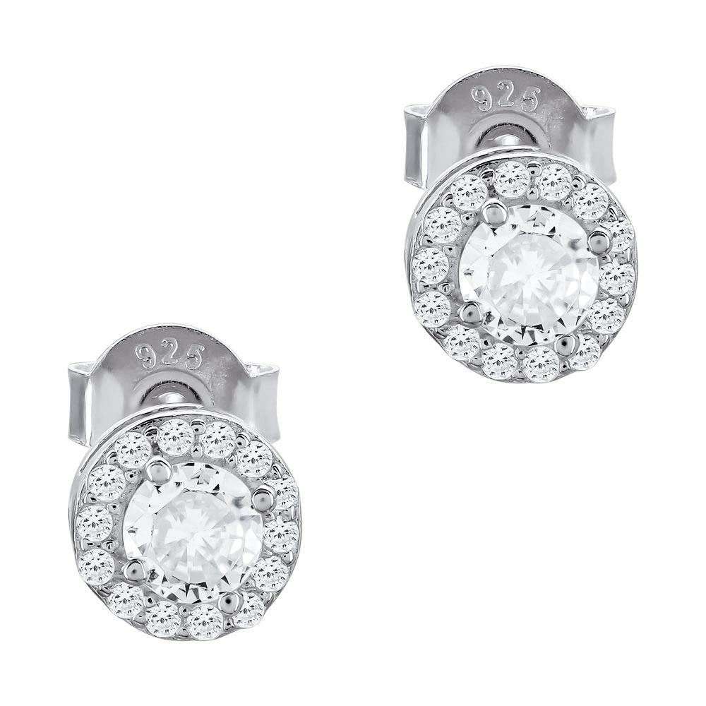 Σκουλαρίκια Με Πέτρες Από Ασήμι SK1108