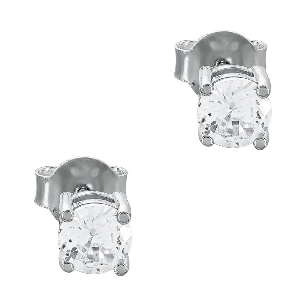 Σκουλαρίκια με Πετρούλες Από Ασήμι SK1155