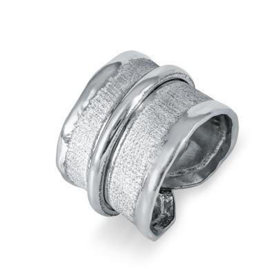 Δαχτυλίδι Σεβαλιέ από Ασήμι DX698