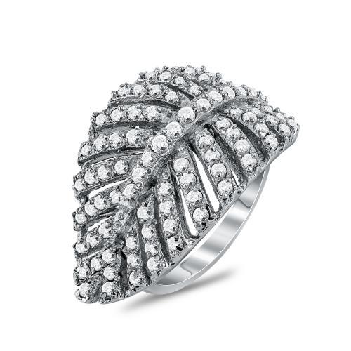 Jools Δαχτυλίδι Φτερό από Ασήμι E1001041