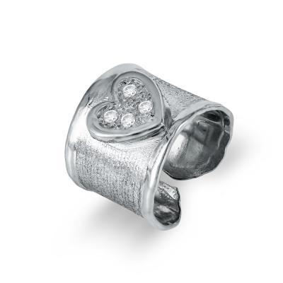Δαχτυλίδι Σεβαλιέ από Ασήμι DX703