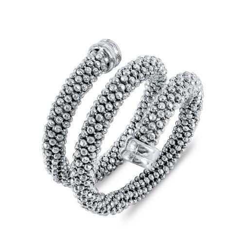 Li-La-Lo Τριπλό Δαχτυλίδι από Ασήμι DX683