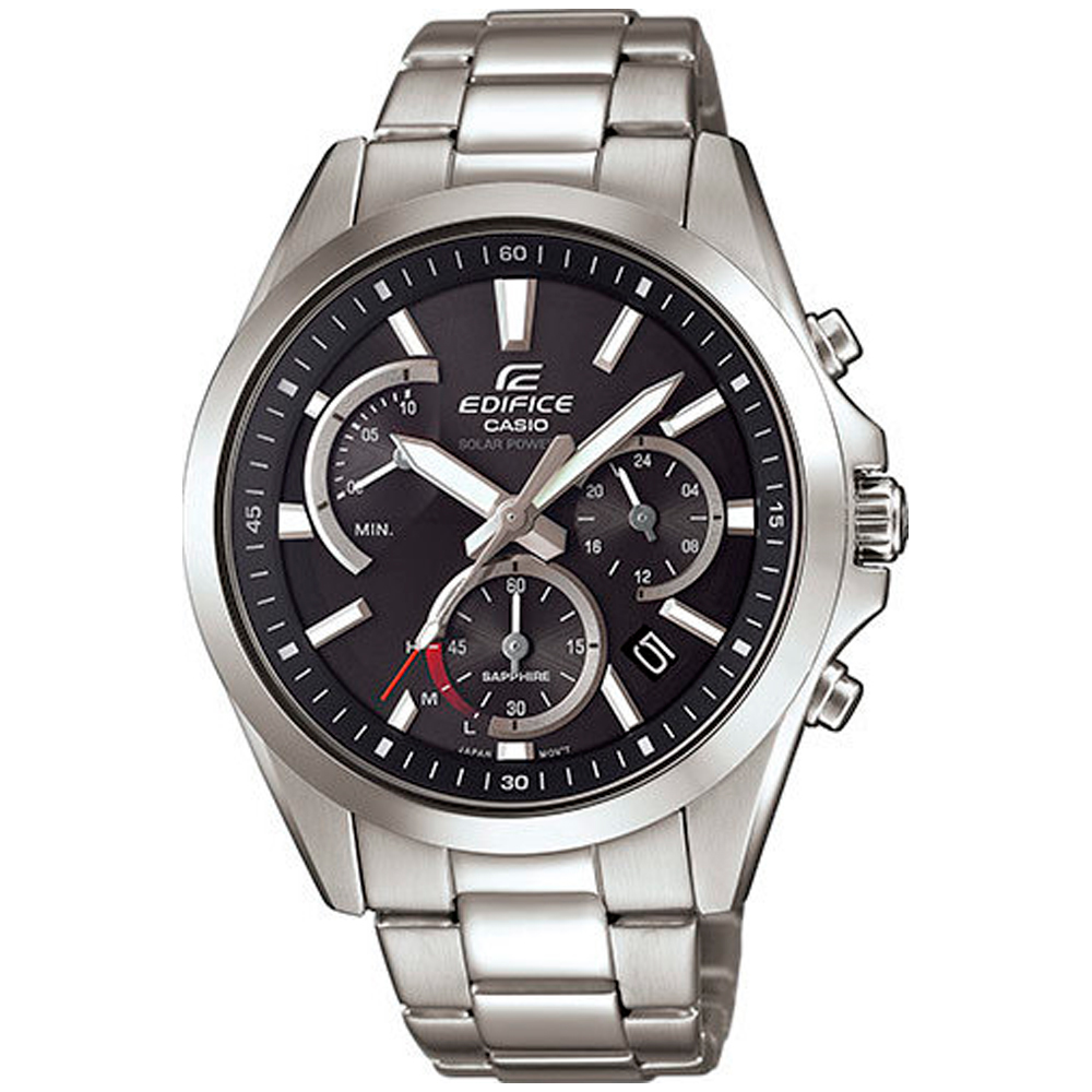 CASIO Edifice Solar Stainless Steel Bracelet EFS-S530D-1AVUEF