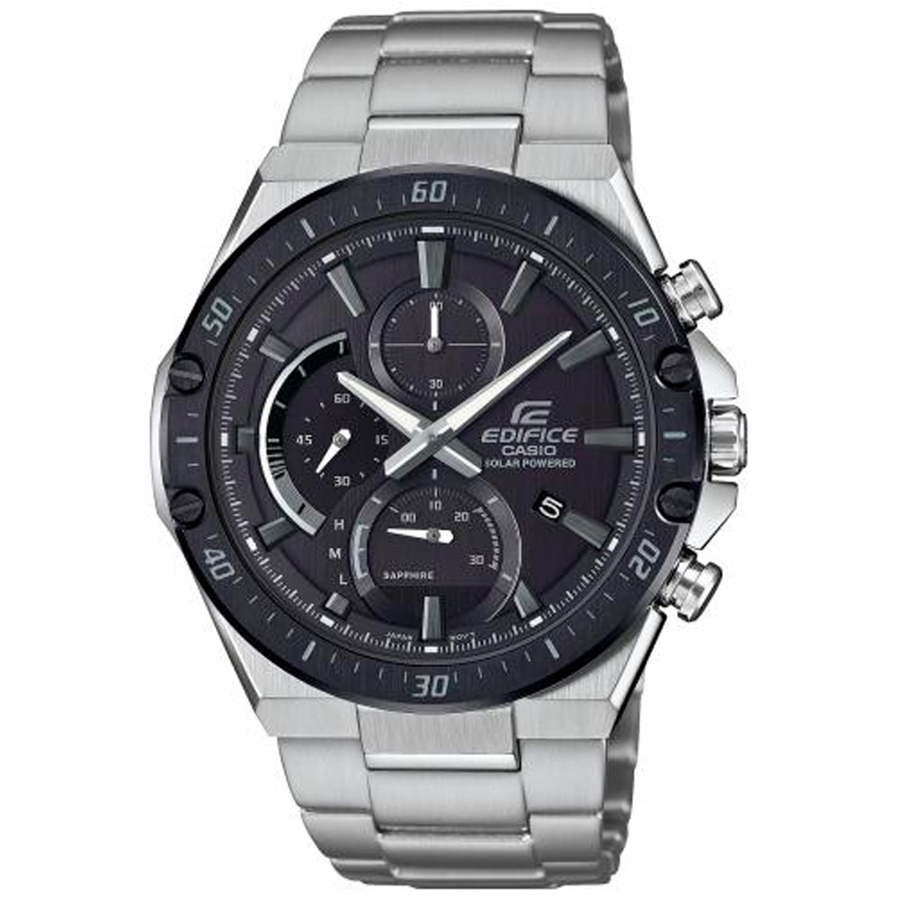 CASIO Edifice Solar Stainless Steel Bracelet EFS-S560DB-1AVUEF