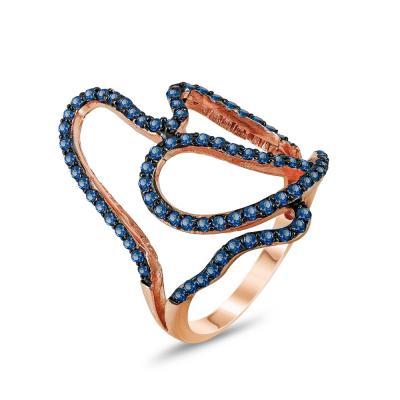 Jools Δαχτυλίδι από Επιχρυσωμένο Ασήμι JR213