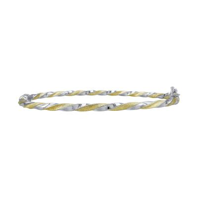 Bραχιόλι από Δίχρωμο Χρυσό Κ14 VR792