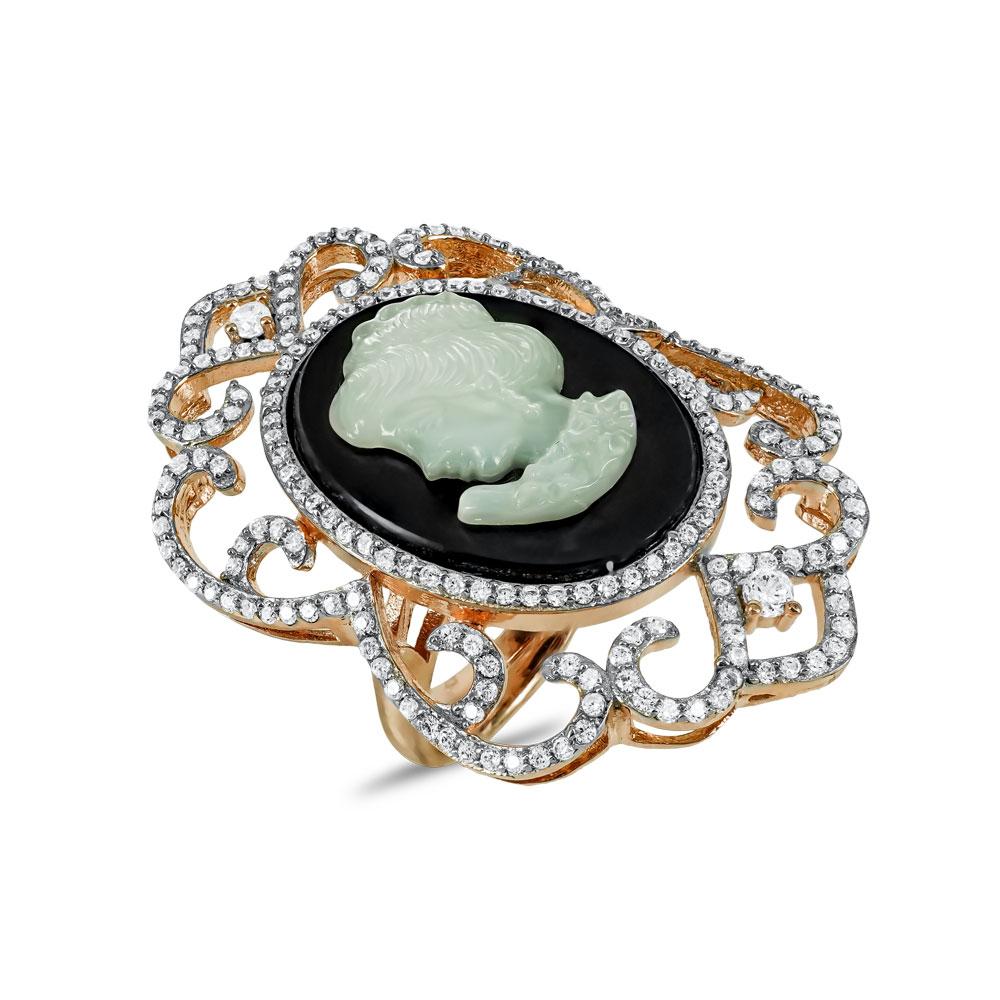 Jools Δαχτυλίδι από Ροζ Επιχρυσωμένο Ασήμι TR907461.1