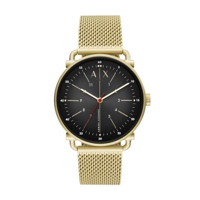 ARMANI EXCHANGE Rocco Gold Stainless Steel Bracelet AX2901