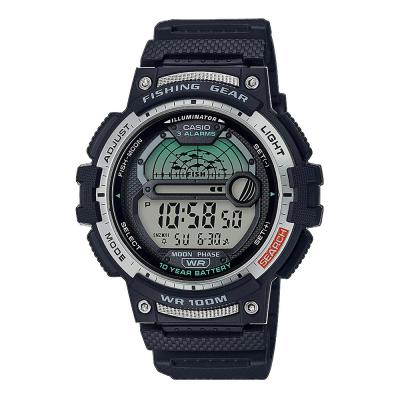 CASIO Collection Black Rubber Strap WS-1200H-1AVEF