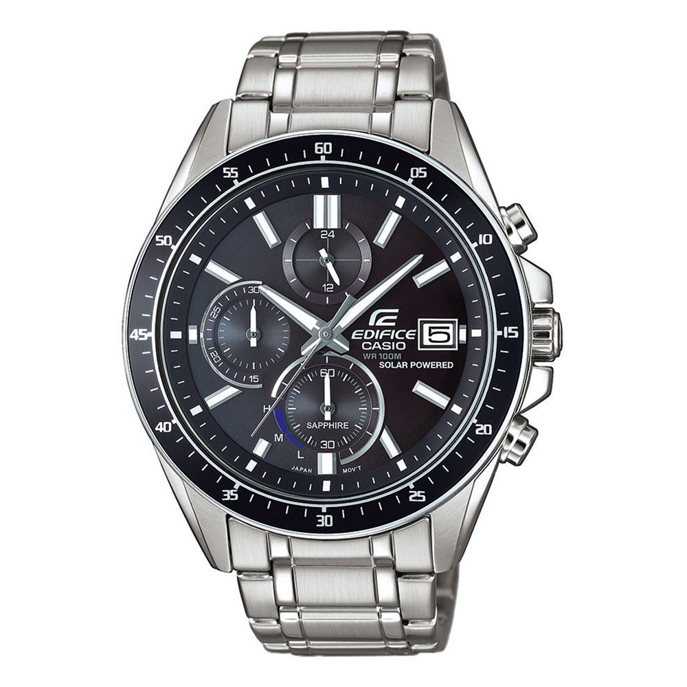 CASIO Edifice Solar Stainless Steel Chronograph EFS-S510D-1AVUEF