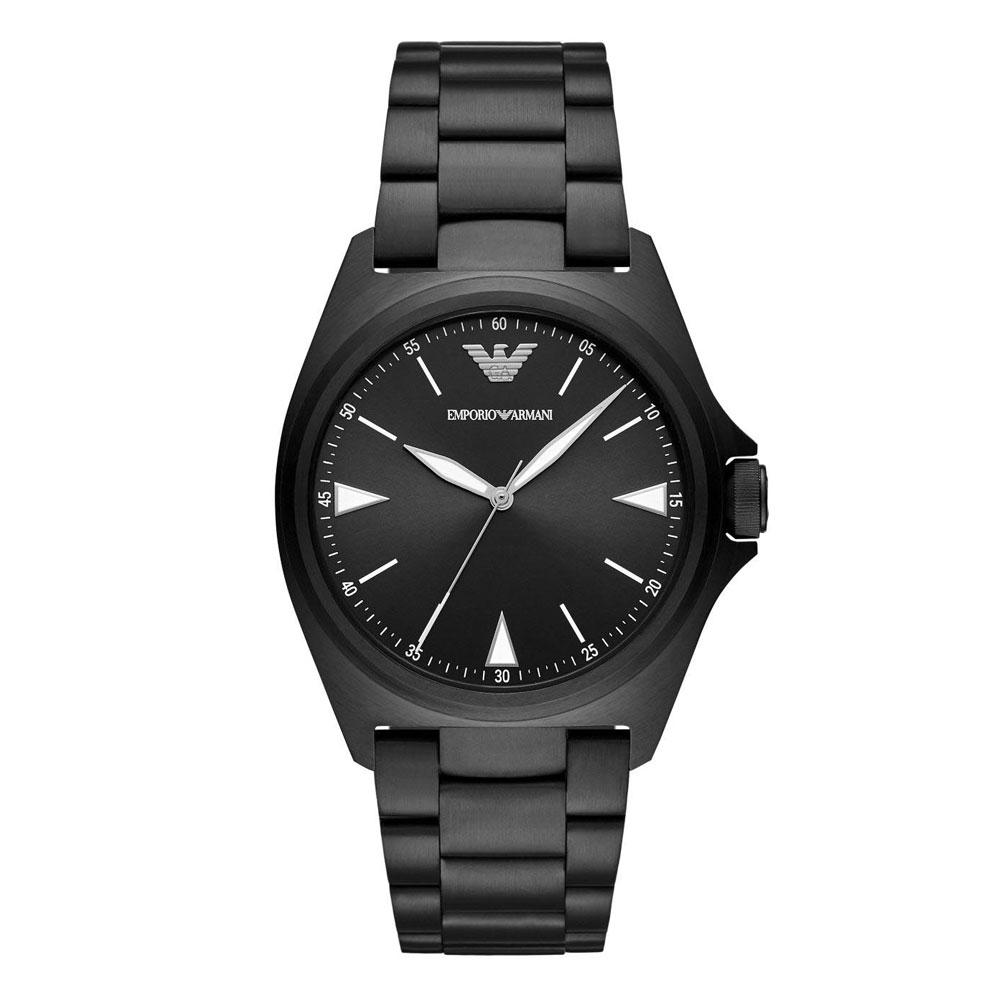 EMPORIO ARMANI Nicola Black Stainless Steel Bracelet AR11257