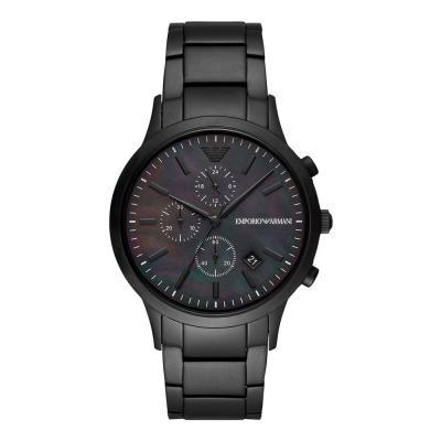 EMPORIO ARMANI Renato Black Stainless Steel Chronograph AR11275