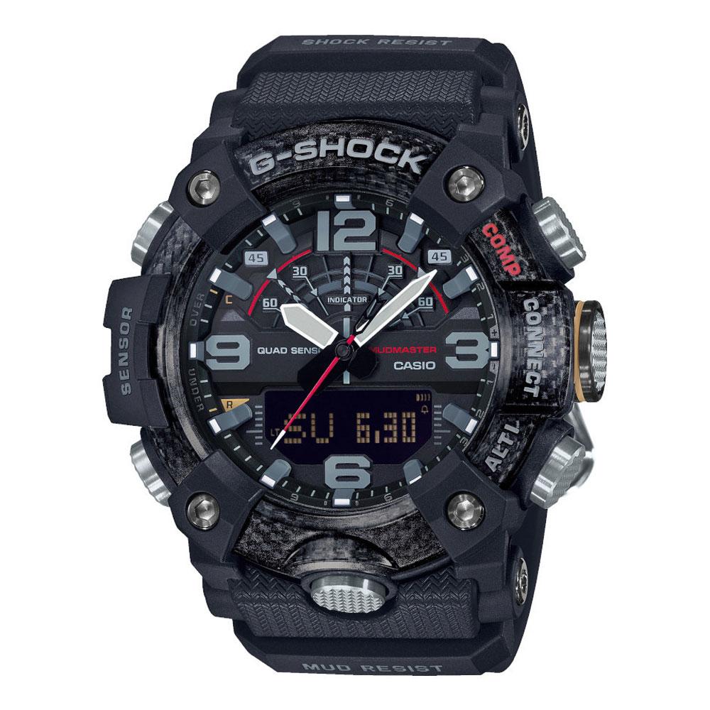 CASIO G-Shock Mudmaster Bluetooth Black Rubber Strap GG-B100-1AER