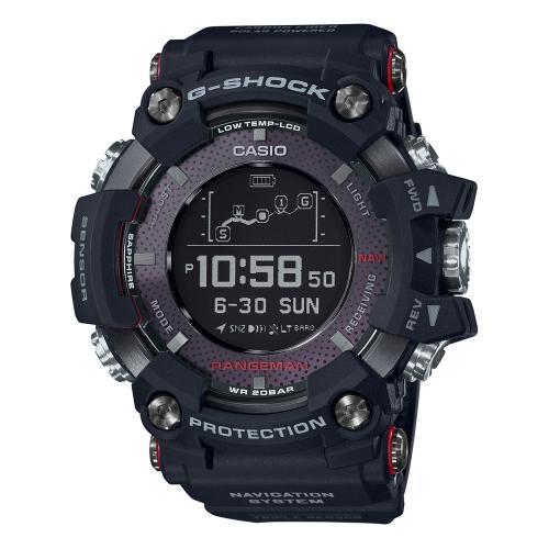 CASIO G-SHOCK Smartwatch Rangeman Black Rubber Strap GPR-B1000-1ER
