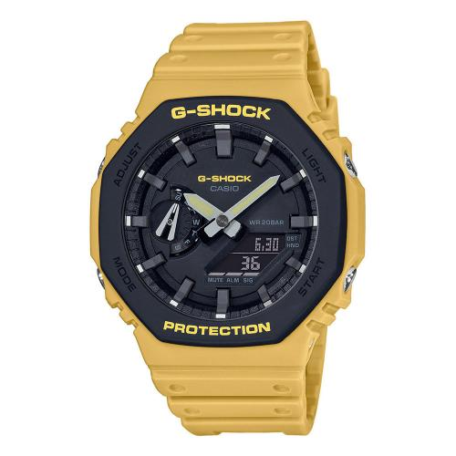 CASIO G-SHOCK Yellow Rubber Strap GA-2110SU-9AER