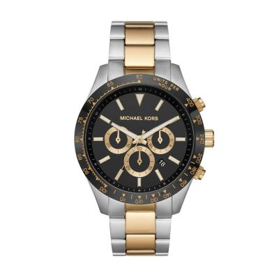 Michael KORS Layton Two Tone Stainless Steel Bracelet MK8784