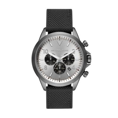 Michael KORS Gage Black Nylon Strap MK8787