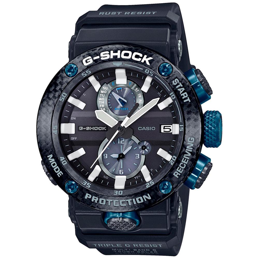 CASIO G-Shock Solar Blue Rubber Strap GWR-B1000-1A1ER
