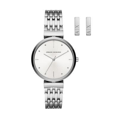 ARMANI EXCHANGE Zoe Stainless Steel Bracelet AX7117