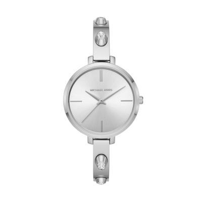MICHAEL KORS Jaryn Crystals Stainless Steel Bracelet MK4522