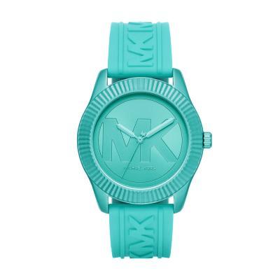 Michael KORS Maddye Turquoise Silicone Strap MK6804