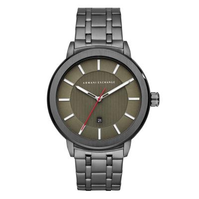 ARMANI EXCHANGE Maddox Grey Stainless Steel Bracelet AX1472