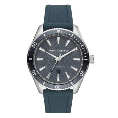 ARMANI EXCHANGE Enzo Blue Rubber Strap AX1835