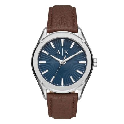 ARMANI EXCHANGE Fitz Brown Leather Strap AX2804