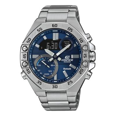 CASIO Edifice Bluetooth Silver Stainless Steel Bracelet ECB-10D-2AEF
