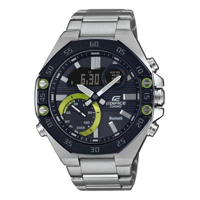 CASIO Edifice Bluetooth Silver Stainless Steel Bracelet ECB-10DB-1AEF
