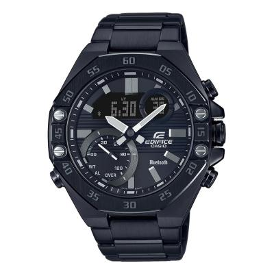 CASIO Edifice Bluetooth Black Stainless Steel Bracelet ECB-10DC-1AEF