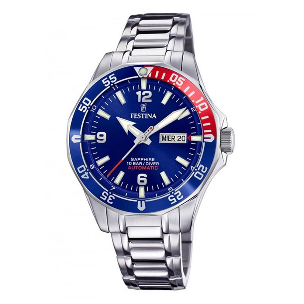FESTINA Diver Automatic Stainless Steel Bracelet F20478-2